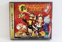 Clockwork Knight Fukubukuro Vol 1 & 2 W/ Reg Card SEGA Saturn SS Japan Import