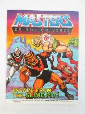 He-Man Masters of the Universe ESCAPE FROM THE SLIME PIT Mini Comic