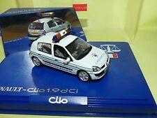 RENAULT CLIO II Phase 3 1.9 dci POLICE DE LA CIRCULATION UNIVERSAL HOBBIES 1:43