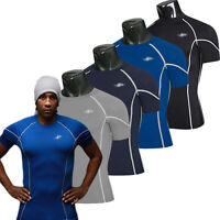 New Mens Compression Under Base Layer Top Tight Short Sleeve T-Shirts Stretchy