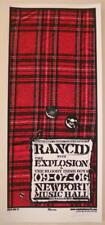 2006 Rancid - Columbus Silkscreen Concert Poster S/N by Mike Martin