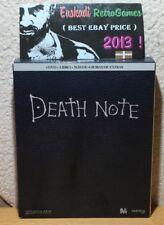 DEATH NOTE // 4 DVD + LIBRO // Versión PAL en Caja de Cartón