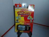 HTF VTG MOC 1990 MAJORETTE MAGIC CARS SPECIAL FX BIG MOUTH BRUNO BLACK  CORVETTE