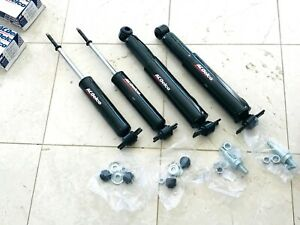 AC DELCO  GM CHEVELLE  CUTLASS GTO GS SHOCK ABSORBER FRONT REAR SET KIT