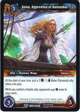 WOW Warcraft TCG Reign of Fire: Jaina Lehrling x 4