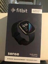 Fitbit Sense **BRAND NEW** Advanced Health & Fitness Smartwatch, Carbon/Graphite