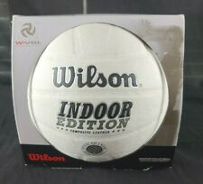 Wilson Indoor Edition Volleyball, White