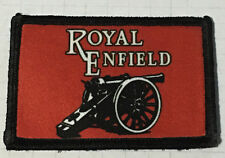Royal Enfield Morale Patch Motorcycle Tactical Military Army Badge Hook Flag