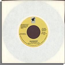 """Mike Rutherford - Moonshine + Working in Line - 1980 7"""" 45 RPM Single!"""