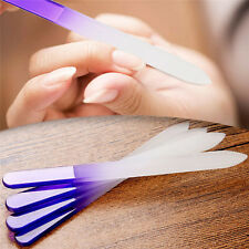 4pcs Durable Crystal Glass Nail File Buffer Art Files Manicure Device Manicure