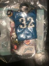 """Burger King 2007 NFL Players Mini Jersey Jacksonville Jaguars - #32 4"""" NIP"""