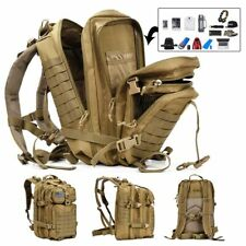 50L Capacity Men Army Military Tactical Large Backpack Waterproof Outdoor Sport