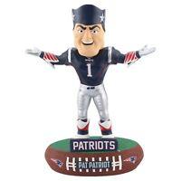 New England Patriots Mascot Pat Patriot Baller Special Edition Bobblehead NFL
