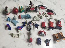Bandai SD Gundam Force Wing Tallgeese Model Kit Part Lot Head Figures Weapons
