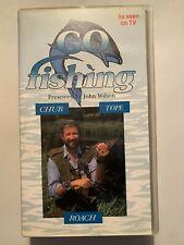 Go Fishing [John Wilson]: Chub Tope Roach - Pal VHS