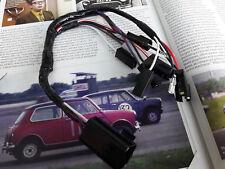 Genuine Rover Mini Cooper Sport Magnolia Ivoire Cadran Wiring Loom œuvres rares Horloge