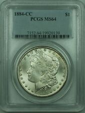 1884-CC Morgan Silver Dollar S$1 PCGS MS-64 (30)