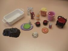 14 Kitchen Littles & Other Mixed Lot- Pizza Pepsi & Orange Soda Popcorn Roaster