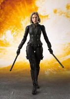 """BLACK WIDOW AVENGERS END GAME S.H. Figuarts SHF 6"""" Action Figure New"""