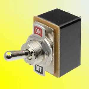 Heavy Duty Toggle Switch 12V ON/OFF Light Metal 12 Volt DPDT/SPST Flick Car Dash