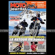 MOTO JOURNAL N°1648 DUCATI 800 MONSTER DS 1000 KAWASAKI Z750 APRILIA SXV DAKAR