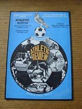 26/09/1978 Oldham Athletic v Greenock Morton [Anglo-Scottish Cup] (No apparent f