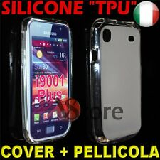 Cover Samsung Galaxy S i9000 and i9001 Plus Clear Matt silicone