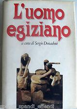 AA.VV. L'UOMO EGIZIANO A CURA DI SERGIO DONADONI CDE 1990