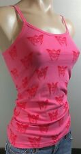 NWOT BLAC LABEL PINK BUTTERFLY WINGS SIZE EXTRA SMALL XS SHIRT TANK