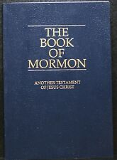 THE BOOK OF MORMON ANOTHER TESTAMENT OF JESUS CHRIST, PB 1981