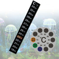 aquarium thermograph temperatur thermometer aufkleber celsius / celsius.