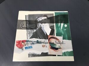 """CHICAGO IF SHE WOULD HAVE BEEN FAITHFUL  PIC SLEEVE ONLY NO RECORD  7"""" C8"""