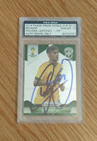 2014 Panini Prizm Soccer World Cup #112 NEYMAR JR - PSA 10 AUTO - 1/1 on eBay