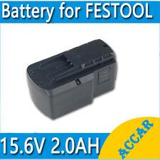 Battery For FESTOOL BPS 15.6V 2.0AH Ni-Cd Heavy duty TDK 15.6 BPS Drill AU