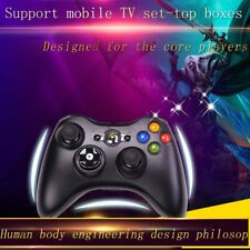 Black Wireless Game Remote Controller Housing Shell for Microsoft Xbox 360 AQ