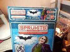 "DC Comics Dark Knight 87pc ""Sprukits"" Poseable Figural Model Kit of The Joker"