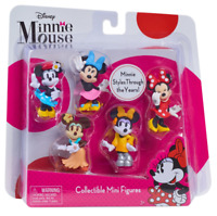 New Disney Just Play Minnie Mouse Bowtique Mini Figure Set 5pk