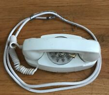 Western Electric Bell System #711-B White Princess 2 Line Rotary Dial Phone 1961