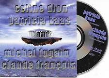 V/A - CELINE DION, PATRICIA KAAS CLAUDE FRANCOIS Promo CD SINGLE 4TR Sony 1998