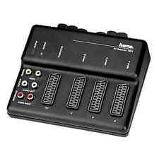 Hama SCART caja del interruptor AV-100S