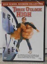 Three O'Clock High (DVD, 2003) RARE 1987 COMEDY BRAND NEW