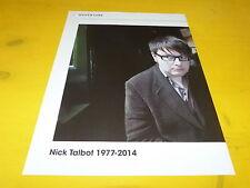 NICK TALBOT - Mini poster couleurs !!!