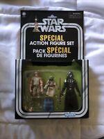Kenner Star Wars CAVE OF EVIL Special Action Figure Set Luke Yoda Vader