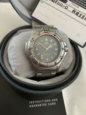 STUNNING GENTS TAG HEUER 4000 WF1111-0 BOX & PAPERS WATCH