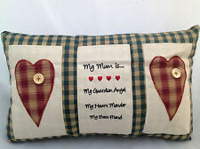 MUM MOTHER SENTIMENT CUSHION GREAT MOTHERS DAY BIRTHDAY GIFT IDEA ANGEL