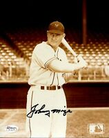 Johnny Mize Signed Jsa Cert Sticker 8x10 Photo Authenticated Autograph