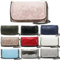 Ladies Chain Trim Handbags Bag Women's Messenger Evening Party Shoulder Bags New