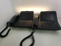 Cisco CP-8945 UC Phone Unified IP VoIP Video Conference Phone - LOT of 2