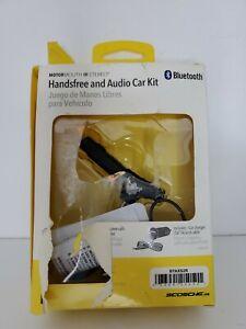 Scosche Bluetooth Aux Hands-Free Audio Car Kit Destroyed Box