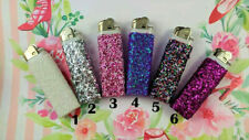 Glitter Bling Lighters ~ 6 Colors! ~ Cute Decorative Bachelorette Party Favors